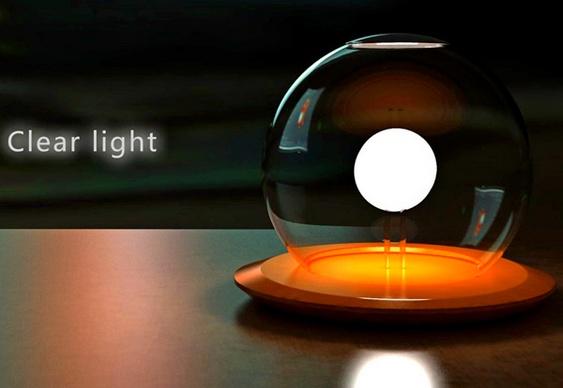 Luminária salina