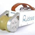 Motor elétrico portátil Rubbee para instalar em bicicleta comum