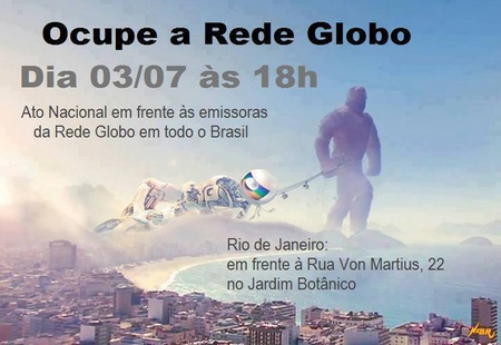 Ocupe Rede Globo
