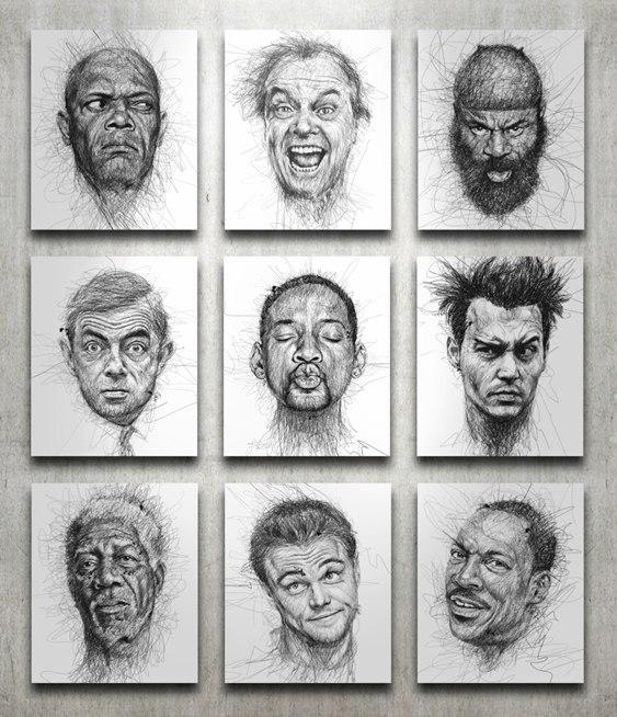 Retrato de artistas