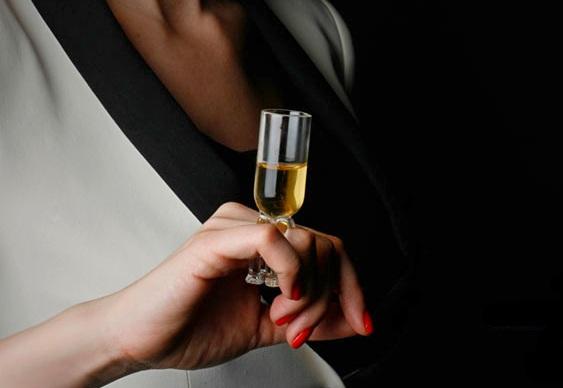 Anel champanhe