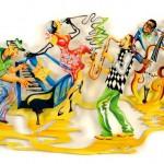 Decoração Jazz para ambiente musical de bar ou casa noturna