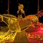 As incríveis esculturas do Campeonato Mundial de Arte no Gelo