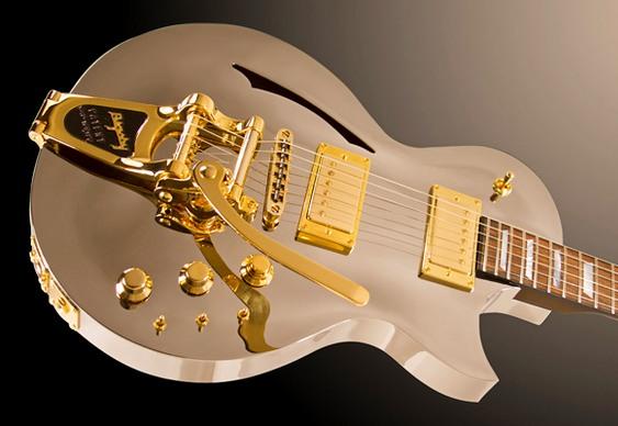 Guitarra de alumínio