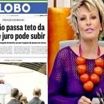 Globo errou de novo: inflação cai e fica no centro da meta do BC