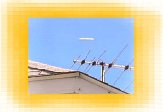Disco voador com forma de charuto