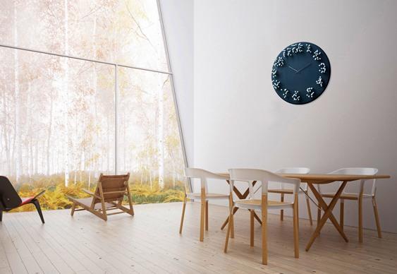 Relógio de bambu