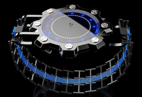 Relógio alienígena