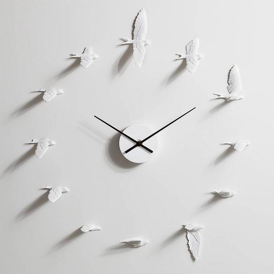 Relógio com pássaros