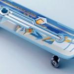 Prancha 2 em 1 para iniciantes transforma skate num patinete