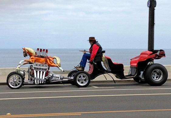 Carroça Hot Rod