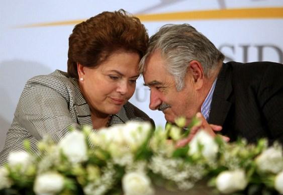 Presidentes do Brasil e Uruguai