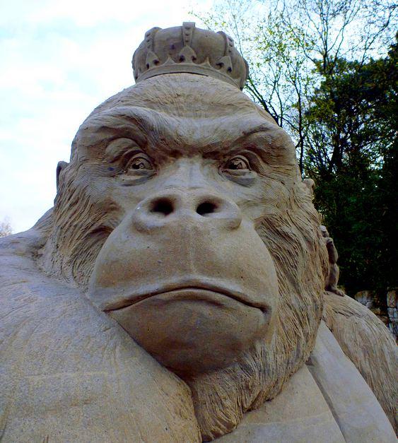 Escultura de King Kong