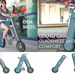 A bicicleta One Shot mais fácil de dobrar e carregar no mundo
