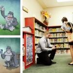 O pedido real de noivado com uma historinha de livro infantil
