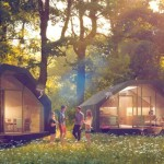 Projeto para construção de casa barata separada em módulos