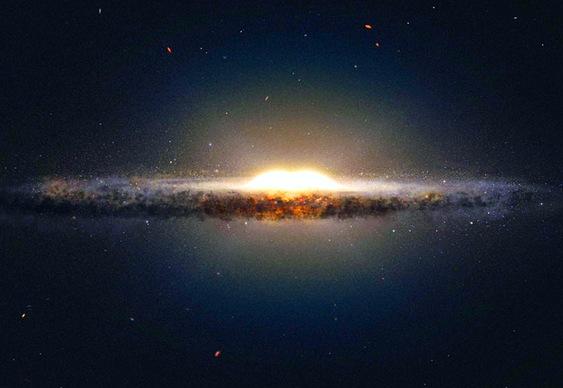 Coração da nossa galáxia