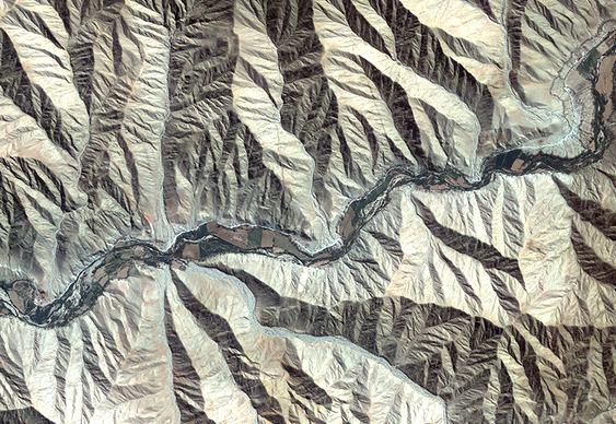 Montanhas no Peru