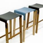 Como fazer banquinhos ou tamboretes de madeira com assento de metal