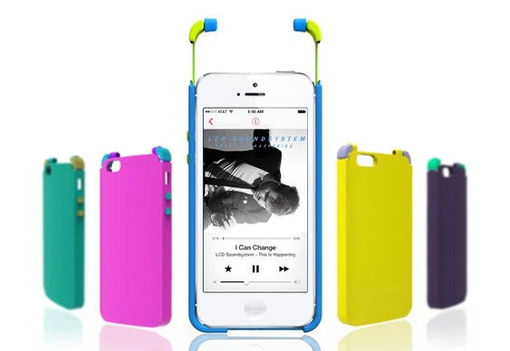 Fones coloridos para smartphones