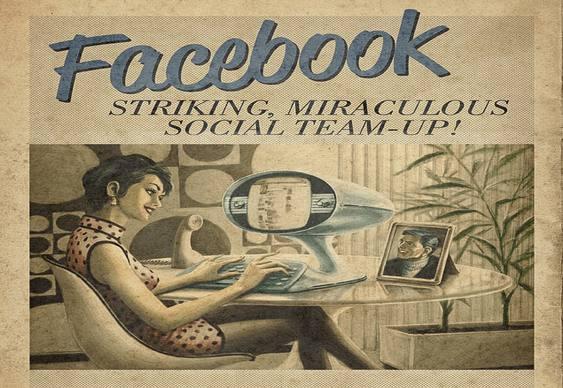 Facebook envelhecido