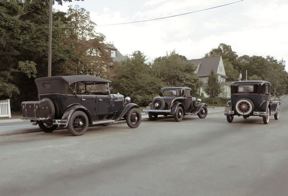 Miniaturas de automóveis clássicos