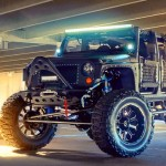 Um Jeep capaz de virar e fazer a cabeça de qualquer um na rua