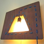 O jeito minimalista de ficar famoso com uma luminária de parede