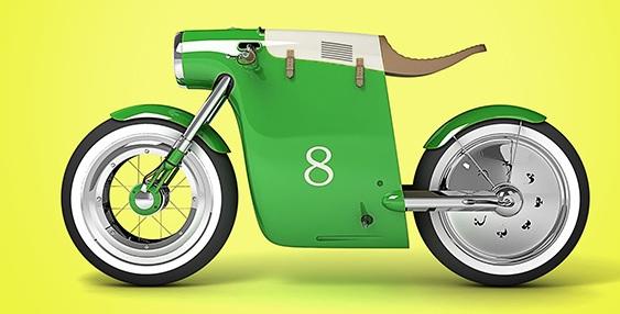 Motocicletas Monocasco para mulheres
