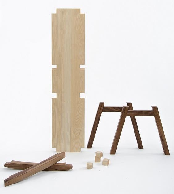 Modelo balanço madeira