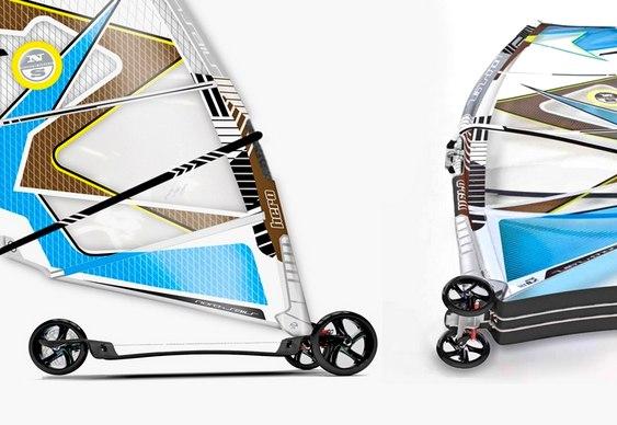 Prancha de Skate em fibra de carbono