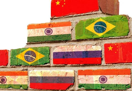 Países que formam os BRICS