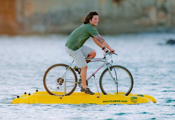 Bicicleta Catamarã