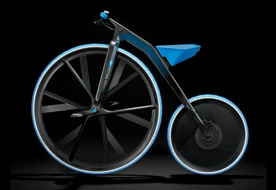 Bicicleta elétrica comemorativa da BASF