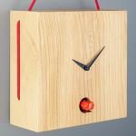 Design contemporâneo de relógio cuco para pendurar na parede