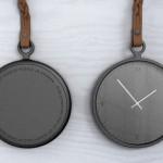 Relógios de bolso People People com correntes de metal ou couro