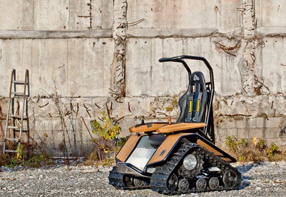 Cadeira de rodas Der Ziesel