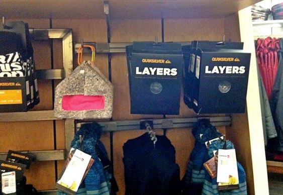 Cabide para loja de roupas