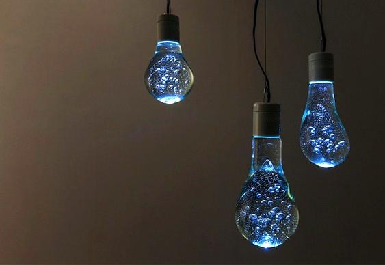 Iluminação reciclada