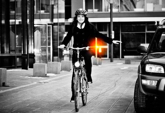 Pisca-pisca para bikes