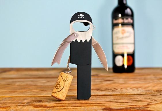 Abridor de garrafas Pirata