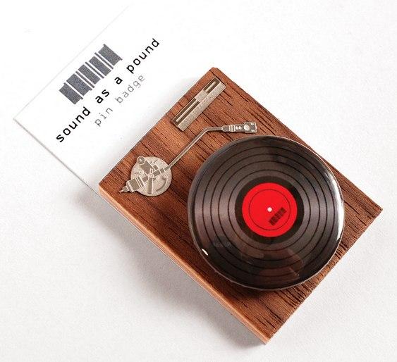 Pin Toca-Discos
