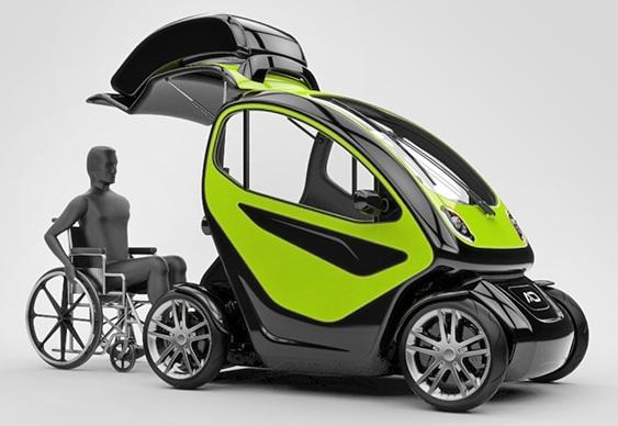 Automóvel para cadeirantes