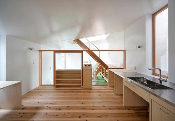 Copa-cozinha de casa pequena