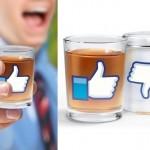 Viciados em Facebook ganham copos para 'curtir' uma bebedeira