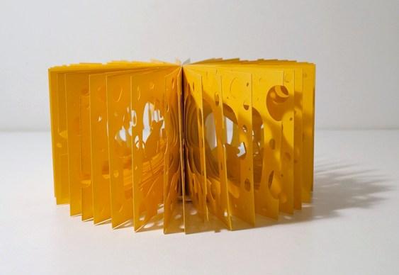 Queijo suíço tridimensional