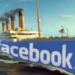 Previsão sombria: o Facebook já estaria a caminho do naufrágio
