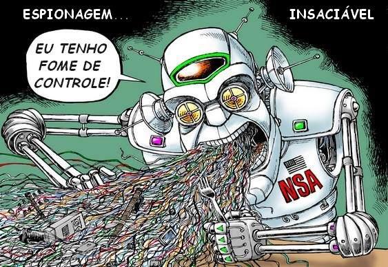Charge NSA, CIA & EUA