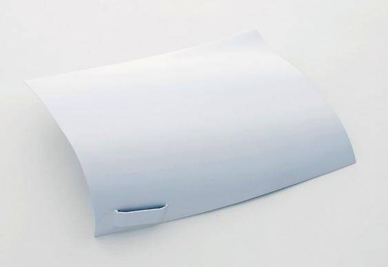 Chapa de aço branca