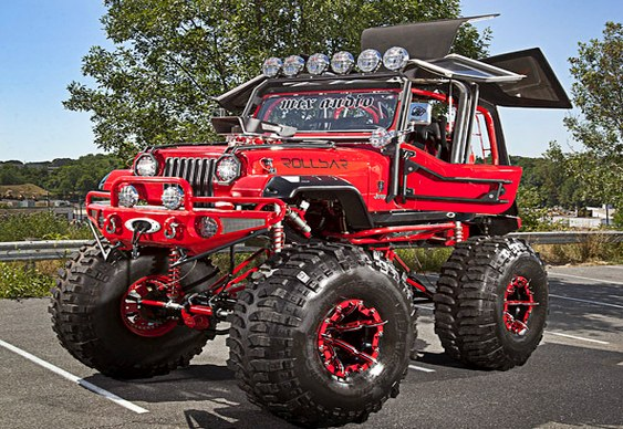 Jeep Vermelho
